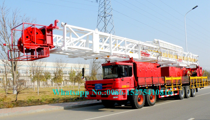 ZJ15/1350CZ Pile Drilling Machine well drilling truck f1500m Drilling Depth