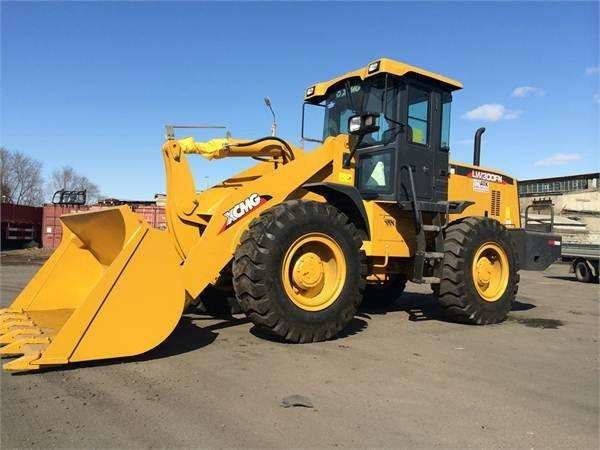 LW300FN Heavy Earth Moving Machinery / 3 Ton Rc Hydraulic Front Wheel Loader