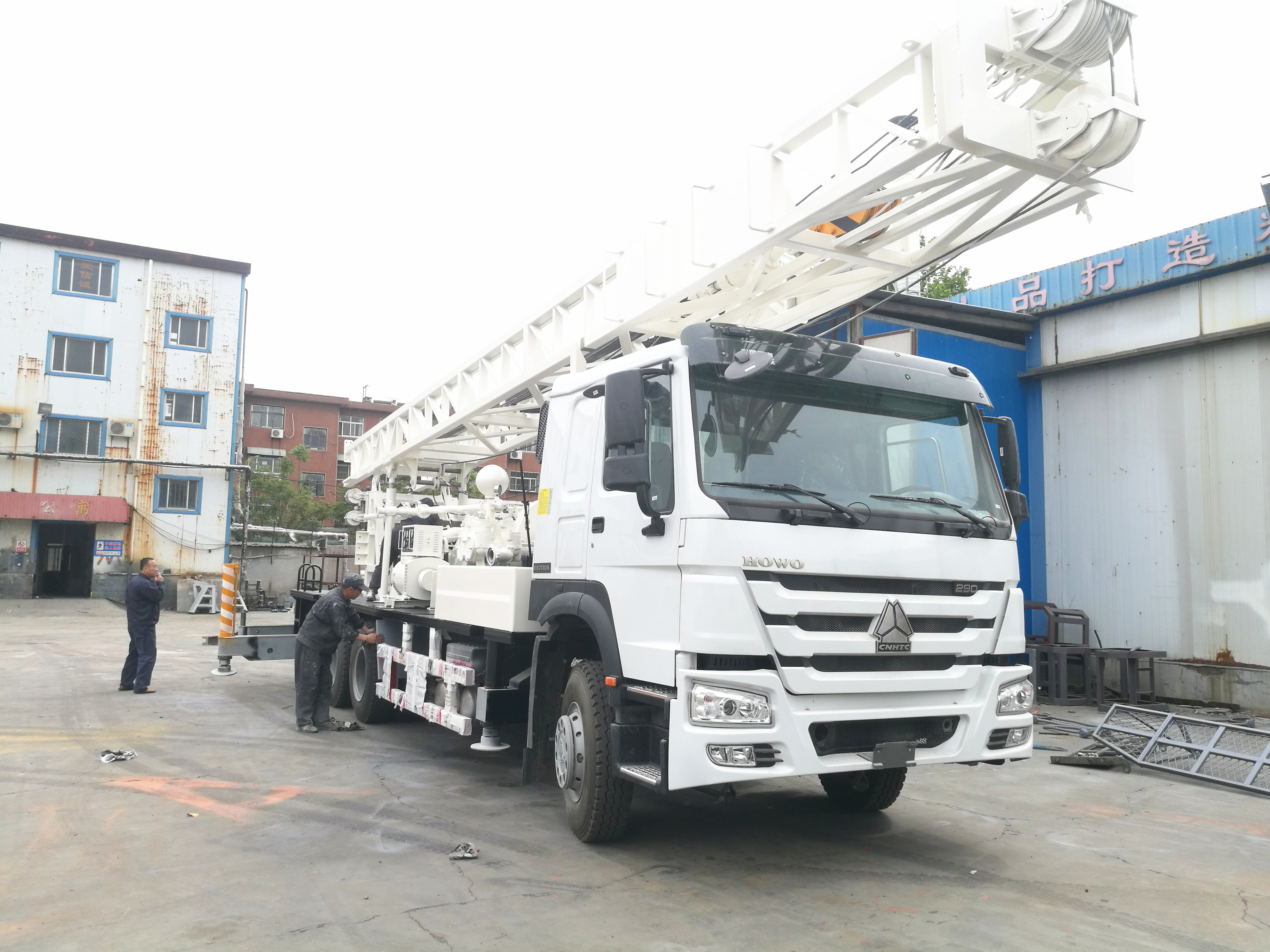 27T 600m Rotary Pile Drilling Rig With Directional Circulation BZC600CLCA