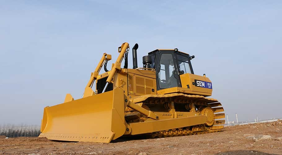 CCC Heavy Earth Moving Machinery SEM 816 Bulldozer With WeiChai Egine And Yellow Color