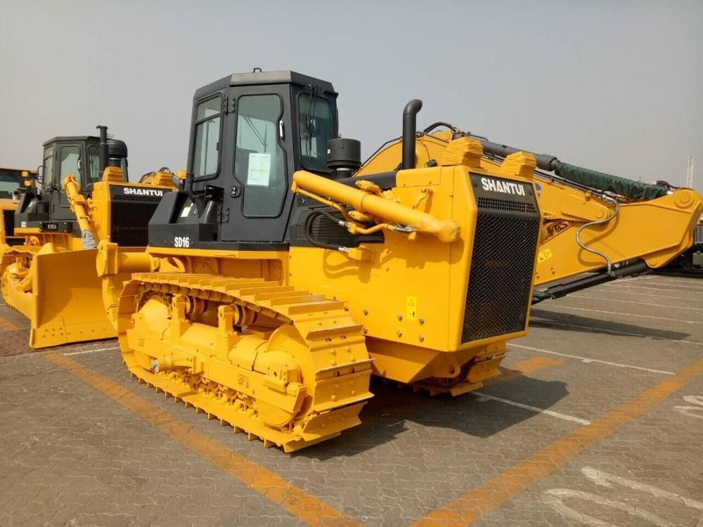 18460kg SHANTUI Crawler Bulldozer For Construction Machinery SD16  With 2300mm Track Center Distance